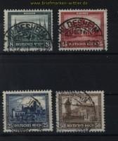 dt. Reich Mi # 450/53 Nothilfe 1930 gestempelt (31327)