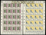Faröer Mi # 43/44 postfrischer Kleinbogensatz Europa 1979 (31134)