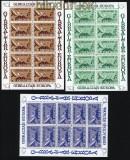 Gibraltar Mi # 392/94 postfrischer Kleinbogensatz Europa-Cept 1979 (31145)