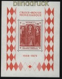 Monaco Mi # Block 5 postfrisch Rotes Kreuz (31174)