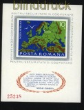 Rumänien Mi # Block 125 postfrisch KSZE-Block (31199)