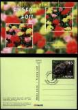 Lettland Ganzsachen-Ausstellungskarte Essen 2011 Motiv Eule (31580)