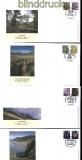 Großbritannien Regionalmarken 2012 auf Ersttagsbrief FDC (31581)