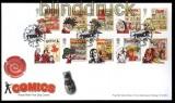 Großbritannien Mi # 3225/34 Comichefte auf Ersttagsbrief FDC (31582)