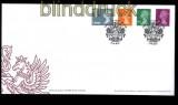 Großbritannien Mi # 3249/52 Königin Elizabeth II auf Ersttagsbrief FDC (31583)