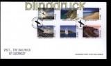 Guernsey Mi # 1374/79 auf FDC Ersttagsbrief Eruopa-CEPT 2012 (31585)