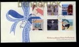 Guernsey Mi # 1344/49 auf FDC Buckillustrationen 2011 (31586)