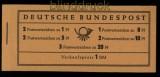 Bund Markenheftchen Mi # 4 Y I Heuss postfrisch (31696)