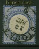 dt. Reich Mi #  26  gestempelt 7 Kreuzer großer Schild (31740)