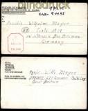 dt. Reich POW Kgf-Brief 671 G.P. W.W. Coy 17.6.1945 Zensur (31717)