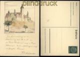dt. Reich GSK rückseitig handgemalt Basilika Brinau datiert 29.6.1939 (31911)