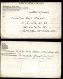 dt. Reich POW Kgf Camp 256 Willingham Haouse Market Rasen Lincs. 19.10.1946 (31914)