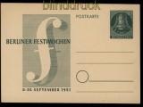 Berlin GSK P 26 Berliner Festwochen ungebraucht (32005)