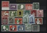 Bund 1956 kompletter postfrischer Jahrgang  (32508)