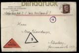 dt. Reich Mi # 420 EF auf Nachnahme-Brief München 1931 (32213)