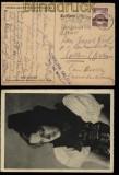 dt. Reich Mi # 668 EF auf Ansichtakarte mit spanischer Zensur 1938 (32214)