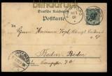 Togo GSK P 5 Klein-Popo 9.3.1900 nach Baden-Baden (32177)