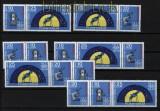 DDR Zusammendrucke Mi # 1714/16 postfrisch WZd 254/259 Carl Zeiss (32101)