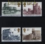 Großbritannien Mi # 1396/99 I postfrisch Britische Burgen (32346)
