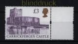 Großbritannien Mi # 1586 III postfrisch Britische Burgen (32350)