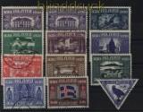 Island Mi # 125/34 und # 140 gestempelt  (32356)