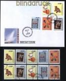 Kosovo Mi # 11/15 postfrisch, gestempelt und FDC (32364)