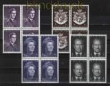 Liechtenstein Mi #  439, 506, 531 und 544 postfrische 4er-Blöcke (32367)