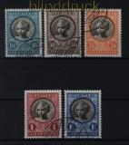 Luxemburg Mi # 192/96 Caritas Kinderhilfe 1927 gestempelt (32368)