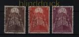 Luxemburg Mi # 572/74 Europa-CEPT 1957 gestempelt (32369)