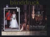 Ascension Mi # Block 69 postfrisch Hochzeit Print William (32540)