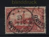 Deutsch-Südwestafrika Mi # 20 gestempelt 1 Mark Schiffszeichnung (32639)