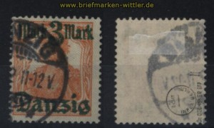 Danzig Mi #  29 II gestempelt geprüft Dr. Oechsner BPP (32742)