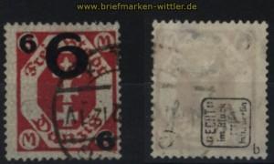 Danzig Mi # 106 b gestempelt geprüft Infla Berlin (32764)