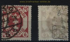 Danzig Mi # 109 b gestempelt geprüft Infla Berlin (32765)