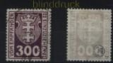 Danzig Porto Mi # P 10 gestempelt geprüft Infla Berlin (32799)