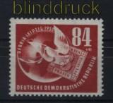 DDR Mi #  260 postfrisch Deutsche Briefmarkenausstellung DEBRIA 1950 (32927)