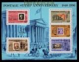 Guernsey Mi # Block 6 postfrisch 150 Jahre Briefmarken (33060)