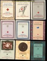 Frankreich 33 Markenheftchen Rotes Kreuz ab 1954 bis 1979 postfrisch (33072)