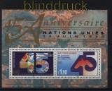 UNO Genf Mi # Block 6 postfrisch 45 Jahre UNO (33097)