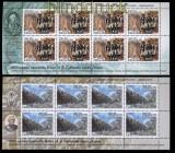 Russland Mi # 749/50 postfrische kleinbögen 200. Jahrestag der Alpenüberquerung (33112)