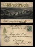 Altenau im Harz sw-AK Oberstrasse 1904 (d5653)