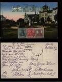 Cottbus farb-AK Kaiser-Wilhelm-Platz 1920 (d5599)