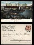 Berlin farb-AK Alt-Berlin mit Blick auf Sparkasse 1905 (d5607)