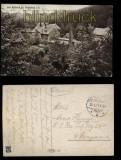Bad Rosental bei Netschkau sw-AK Feldpost 1917 (d5740)