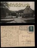 Aue am Berg sw-AK Zum Dorfkrug 1930 (d5780)