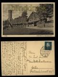 Jena sw-AK Forsthaus mit Kriegerdenkmal 1930 (d5781)