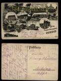 Oberhofen sw-AK Truppenübungsplatz 13 Ansichten 1917 (d5791)