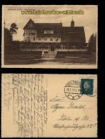 Hindenburg sw-AK Waldkurhaus 1929 (d5807)