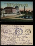 Posen farb-AK Ansiedelungskommission und Paulikirche Feldpost 1916 (d5814)
