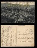 Franzensbad sw-AK Totalansicht Feldpost 1917 (a1047)